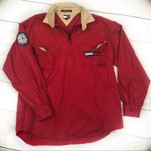 Vintage Tommy Hilfiger Expedition Shirt 90s Men's